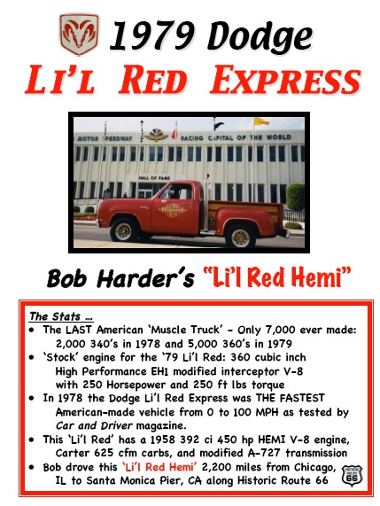 1979 Dodge Lil Red Express Truck By Bob Harder - Image 3