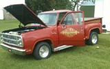 1979 Dodge Lil Red Express Truck By Darren Stoltenberg