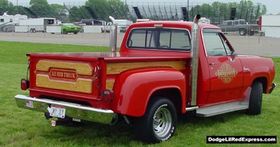 1979 Dodge Lil Red Express Truck, photo from the 2002 Chrysler Classic.