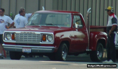 1978 Dodge Lil Red Express Truck, photo from the 2002 Mopar Nationals.