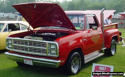 1979 Dodge Lil Red Express Truck, photo from the 2002 Tri-State Chrysler Classic.