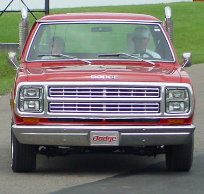 1979 Dodge Lil Red Express Truck, photo from the 2003 Mopar Nationals.