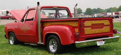1979 Dodge Lil Red Express Truck, photo from the 2004 Chrysler Classic.
