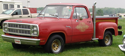 Dodge Lil Red Express Truck, photo from the 2004 Chrysler Classic.