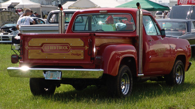 Dodge Lil Red Express Truck, photo from the 2004 Mopar Nationals.