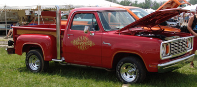 1978 Dodge Lil Red Express Truck, photo from the 2004 Chrysler Classic.