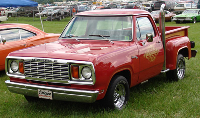 1978 Dodge Lil Red Express Truck, photo from the 2004 Mopar Nationals.