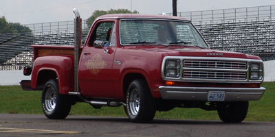 1979 Dodge Lil Red Express Truck, photo from the 2004 Mopar Nationals.