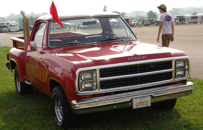 1979 Dodge Lil Red Express Truck, photo from the 2005 Chrysler Classic.