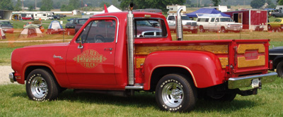 Dodge Lil Red Express Truck, photo from the 2005 Chrysler Classic.