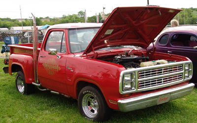 1979 Dodge Lil Red Express Truck, photo from the 2006 Cincy Street Rods Show.