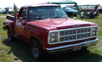 1979 Dodge Lil Red Express Truck, photo from the 2006 Mopar Nationals.