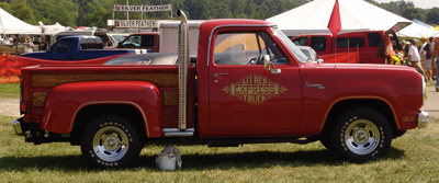 Dodge Lil Red Express Truck, photo from the 2006 Mopar Nationals.
