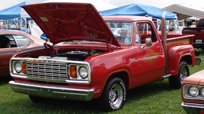 1978 Dodge Lil Red Express Truck, photo from the 2007 Mopar Nationals.