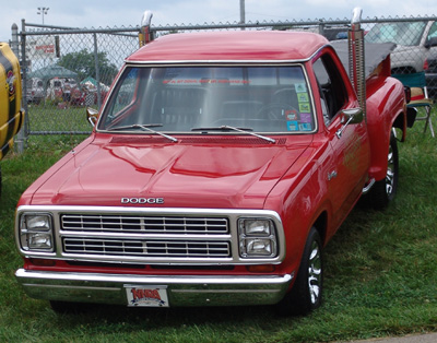1979 Dodge Lil Red Express Truck, photo from the 2007 Mopar Nationals.