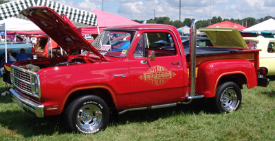 1979 Dodge Lil Red Express Truck, photo from the 2008 Mopar Nationals.