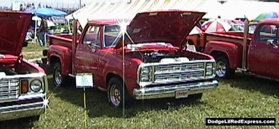 1979 Dodge Lil Red Express Truck, photo from the 2000 Mopar Nationals.