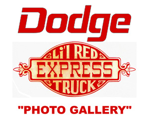 Classic Dodge and Lil Red Express Truck Logos
