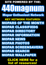 Mopar Enthusiast Network Key Features