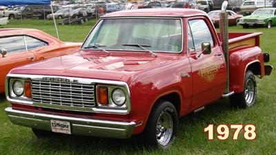 1978 Dodge Lil Red Express Trucks